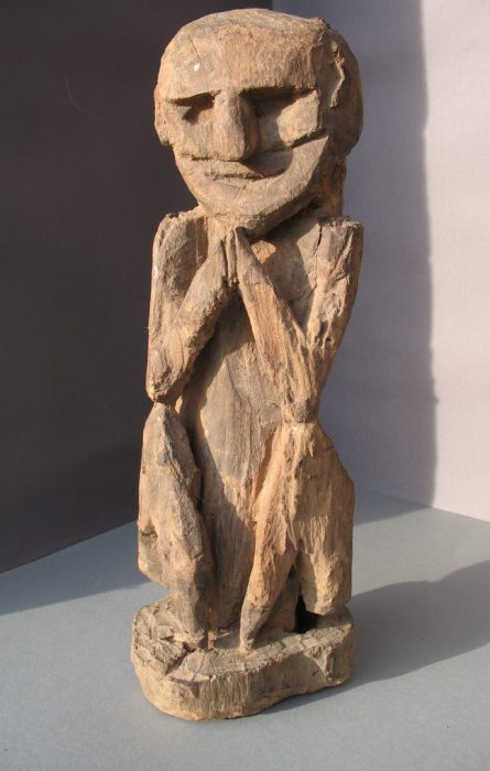 Wooden Sculpture 23, View A
