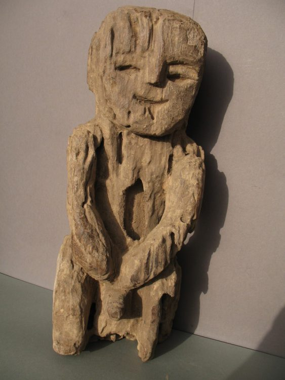 Wooden Sculpture 14, View A