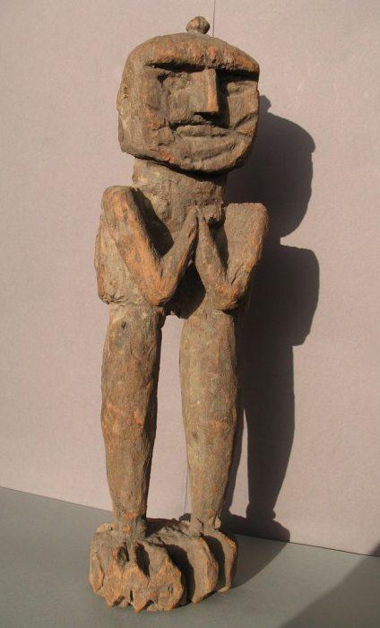 Wooden Sculpture 24, View A
