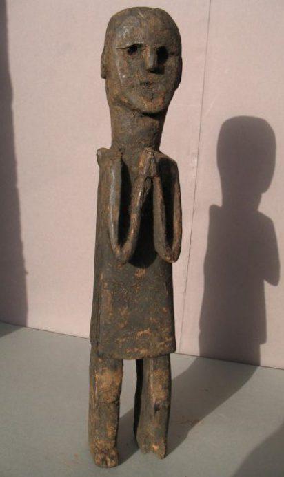 Wooden Sculpture 25, View A
