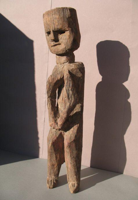 Wooden Sculpture 26, View A