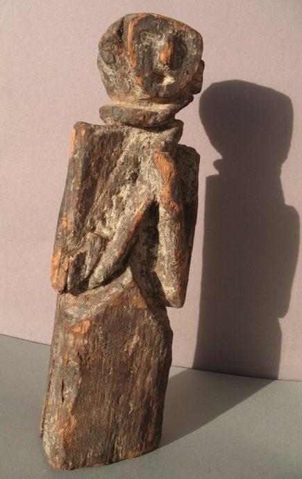 Wooden Sculpture 28, View A