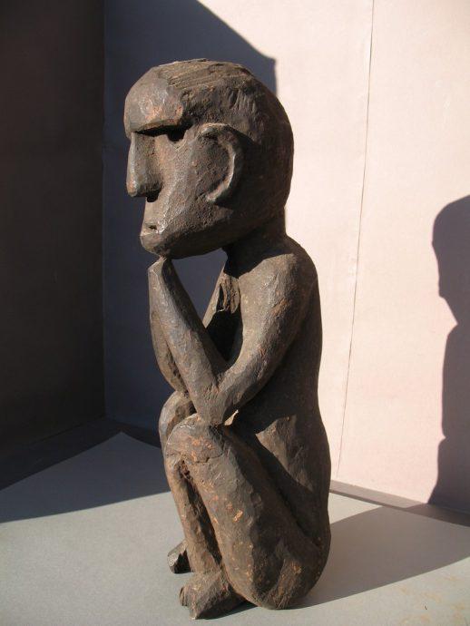 Wooden Sculpture 30, View A