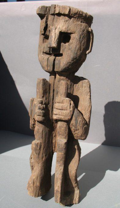 Wooden Sculpture 32, View A