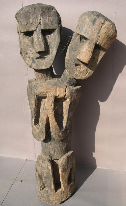 Wooden Sculpture 34, View A