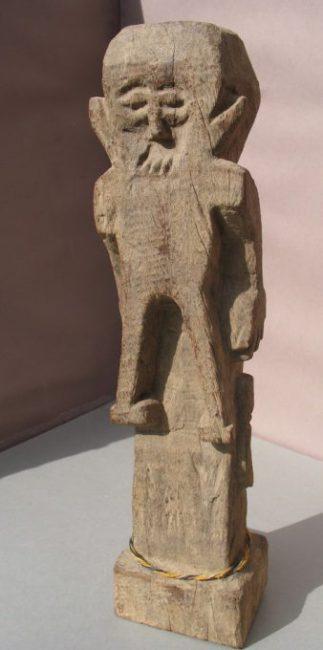 Wooden Sculpture 37, View A