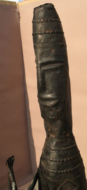Copper Plate Statue, Detail b