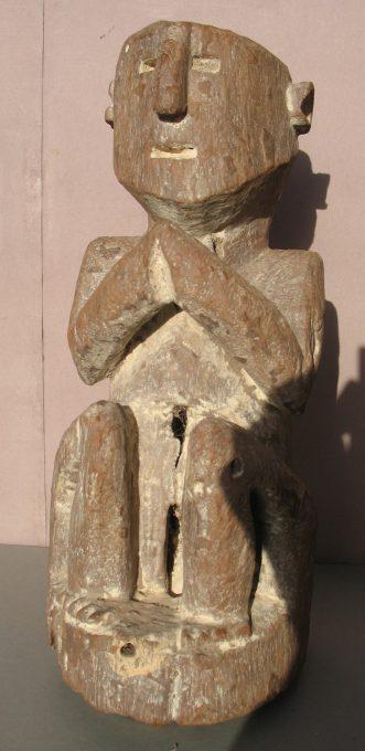 Wooden Sculpture 38, View A