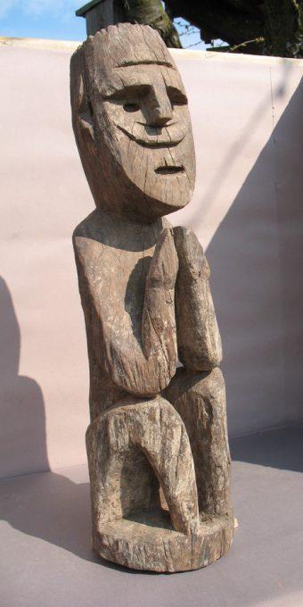Wooden Sculpture 39, View A