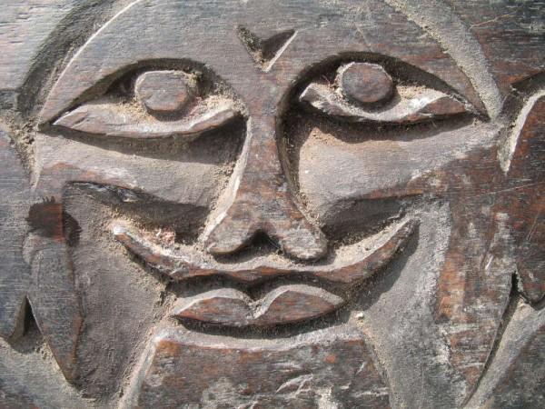Sickle Holder 4, Front, Detail