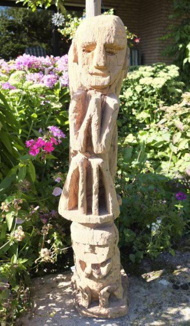 Wooden Sculpture 35, View A