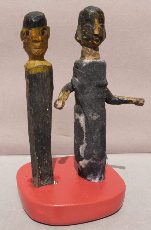 Two Puppets, View A