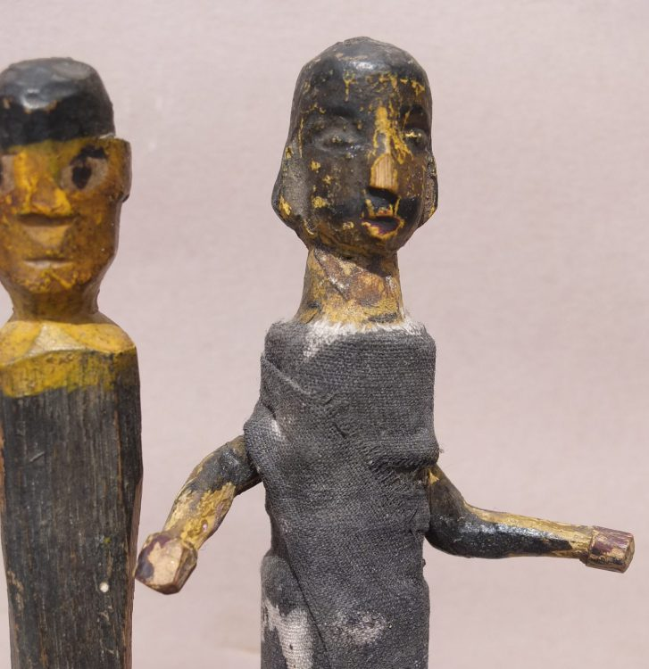 Two Puppets, View C