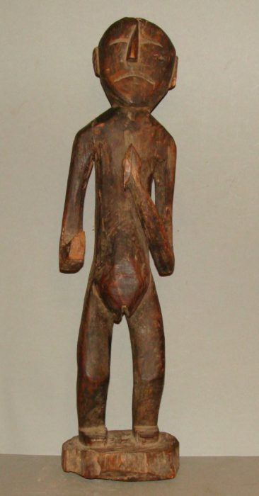 Wooden Statue 21, View A